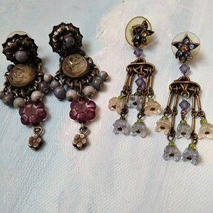 Jewelry - Beaded Dropped Earrings